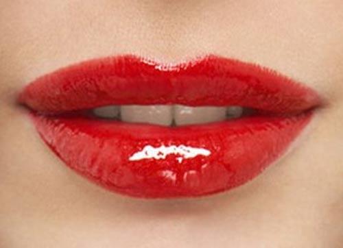 厚唇怎么画口红3