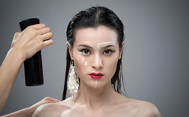 简单新娘妆眉毛画法