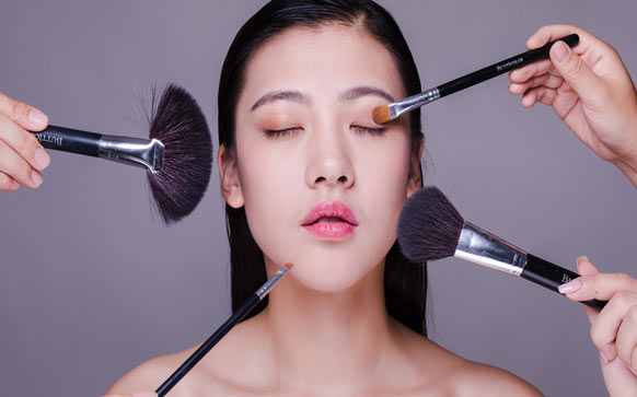 脸部化妆步骤